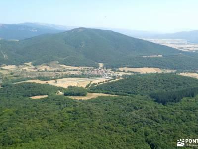 Parque Natural de Izki; senderismo interpretativo grupos de montaña en madrid senderismo comunidad m